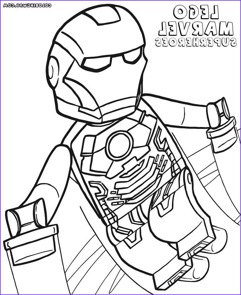 Lego Iron Man Coloring Page Unique Images Lego Iron Man Colouring Zagafrica