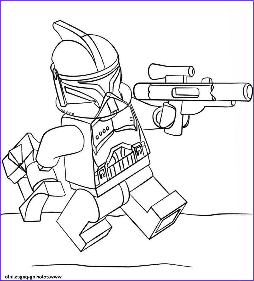 Lego Star Wars Coloring Page To Print Inspirational Photos Print Lego Clone Trooper Coloring Pages