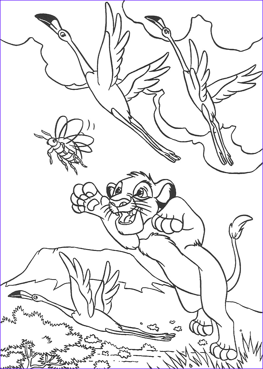 Lion King Coloring Sheet Beautiful Photos the Lion King Coloring Pages