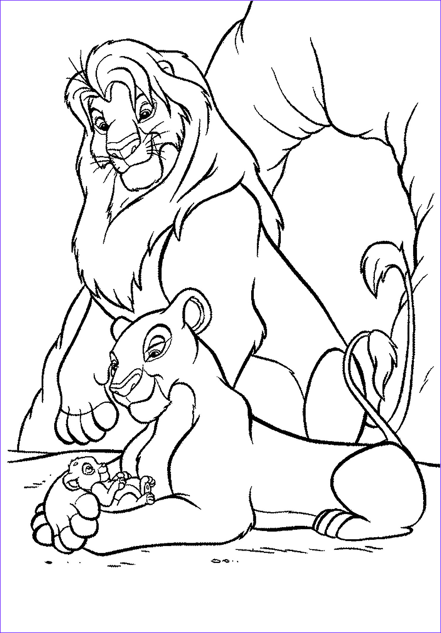 Lion King Coloring Sheet New Photos Lion King Sheets Coloring Pages