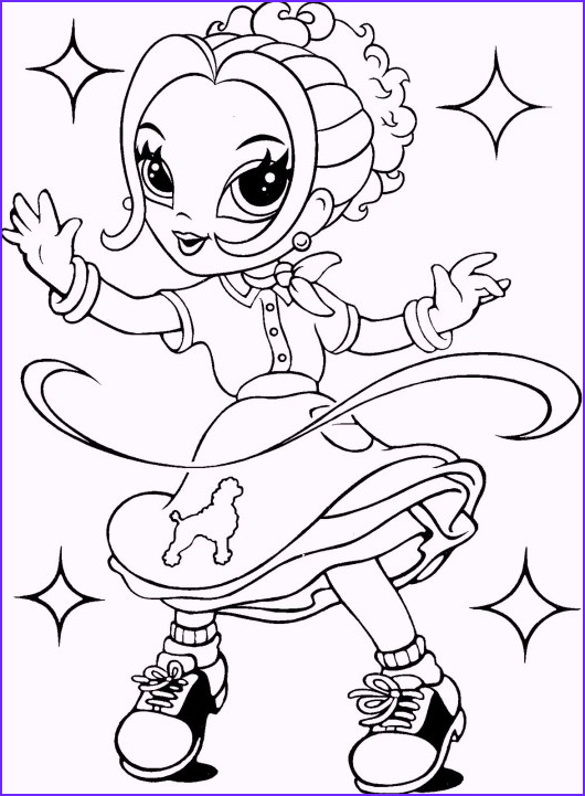 glamour lisa frank coloring pages for girls