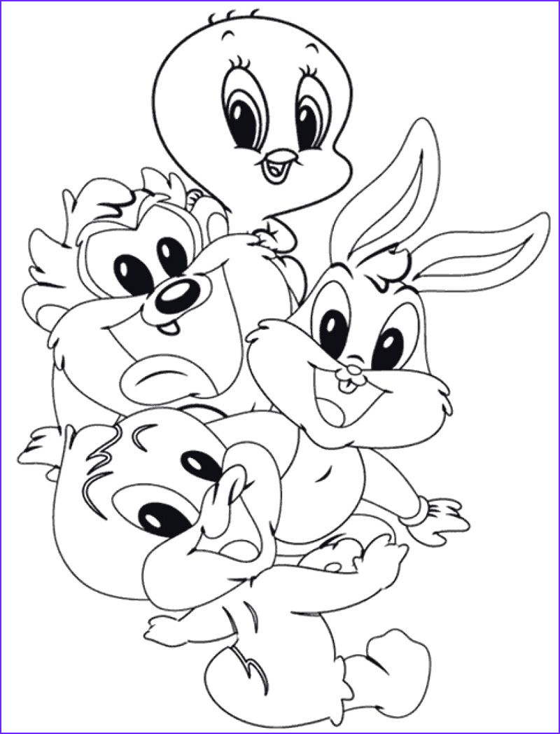 Loony Tunes Coloring Inspirational Photos Cute Baby Looney Tunes Coloring Page Cami