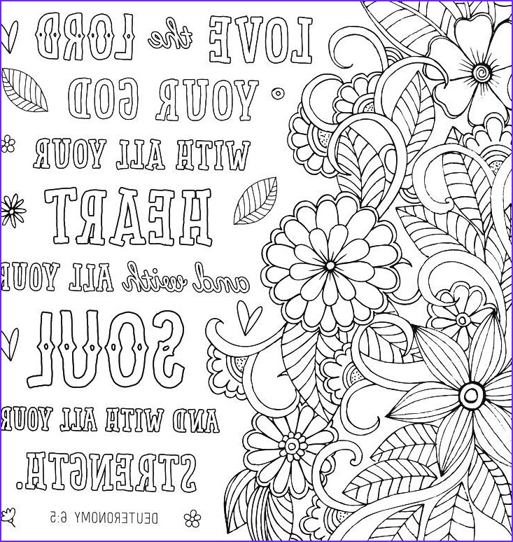 Love the Lord Your God with All Your Heart Coloring Page Inspirational Photos God S Love Endures forever Coloring Book