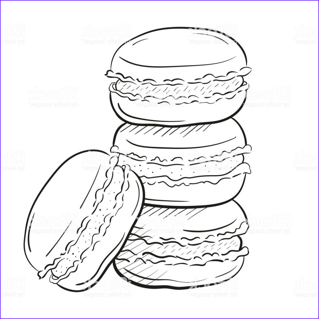 macaron pages sketch templates