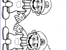 Mario and Luigi Coloring Page Best Of Stock Colouring Page Mario and Luigi