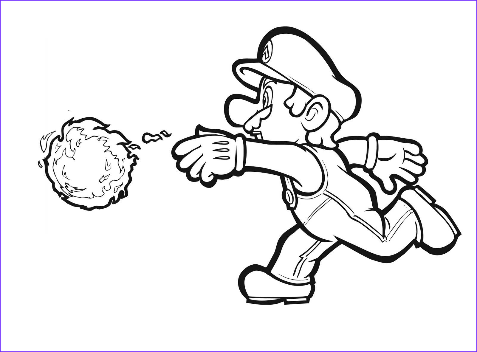 Mario Printable Coloring Page New Images 9 Free Mario Bros Coloring Pages for Kids Disney