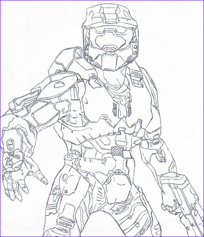 Master Chief Coloring Page Elegant Photography Master Cheif Free Coloring Pages