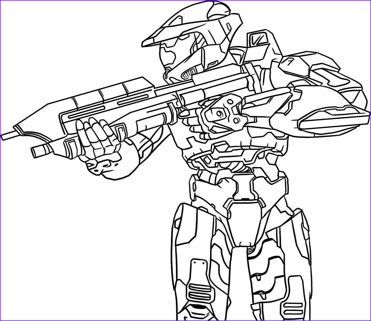 Master Chief Coloring Page Luxury Stock Halo Coloring Pages Coloringpages Ly