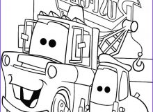 Mater Coloring Page Awesome Image tow Mater and Guido Side by Side Coloring Pages Color Luna