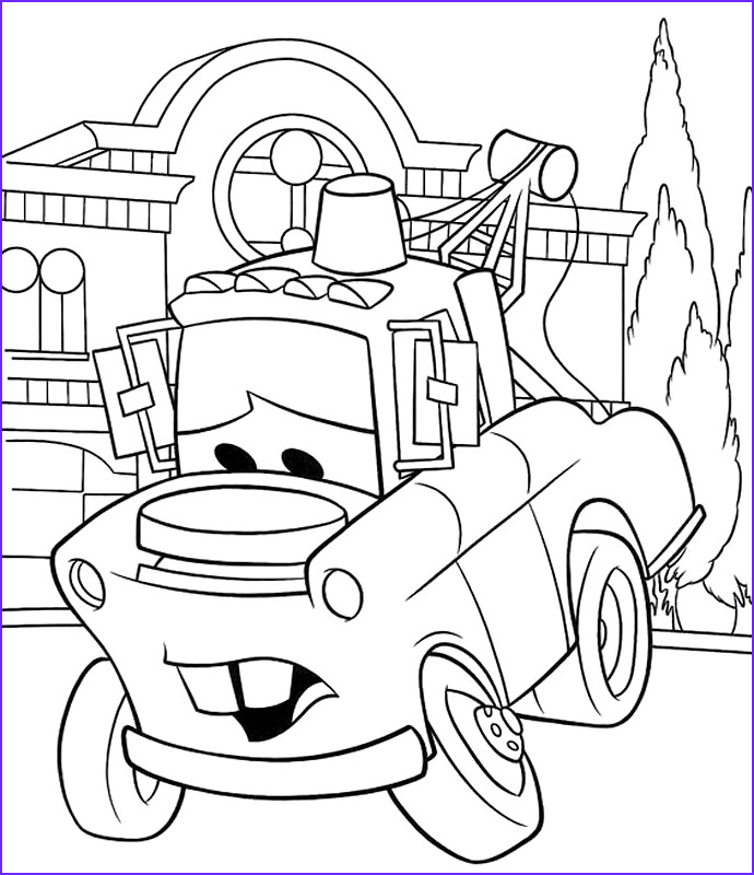 Mater Coloring Page New Photos Mater Coloring Pages Coloring Pages