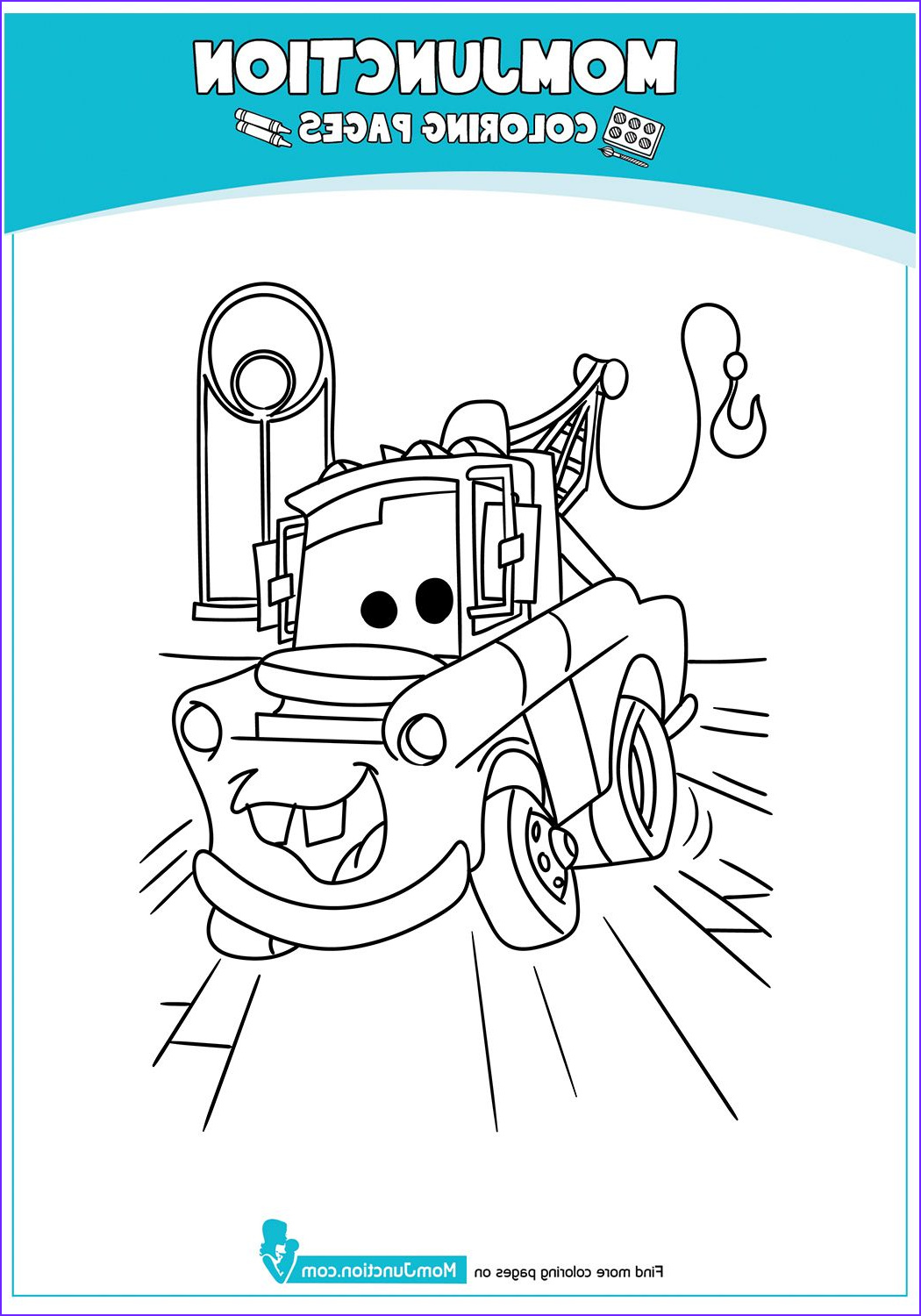 Mater Coloring Page New Photos the Mater 17