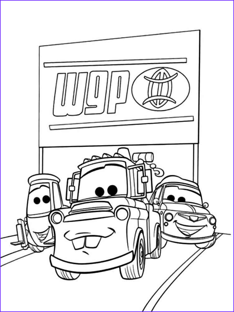 Mater Coloring Page Unique Image Mater From Cars Coloring Pages Free Printable Mater From