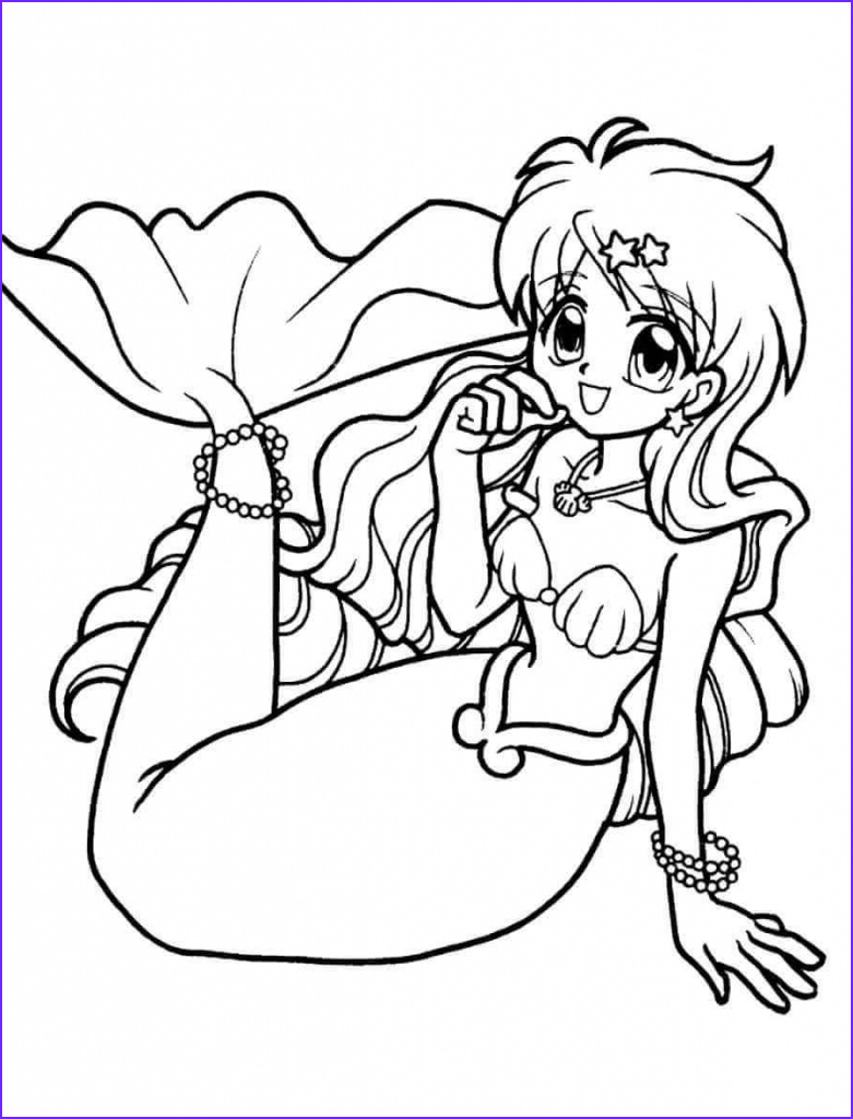 Mermaids Coloring Page Beautiful Photos 30 Stunning Mermaid Coloring Pages