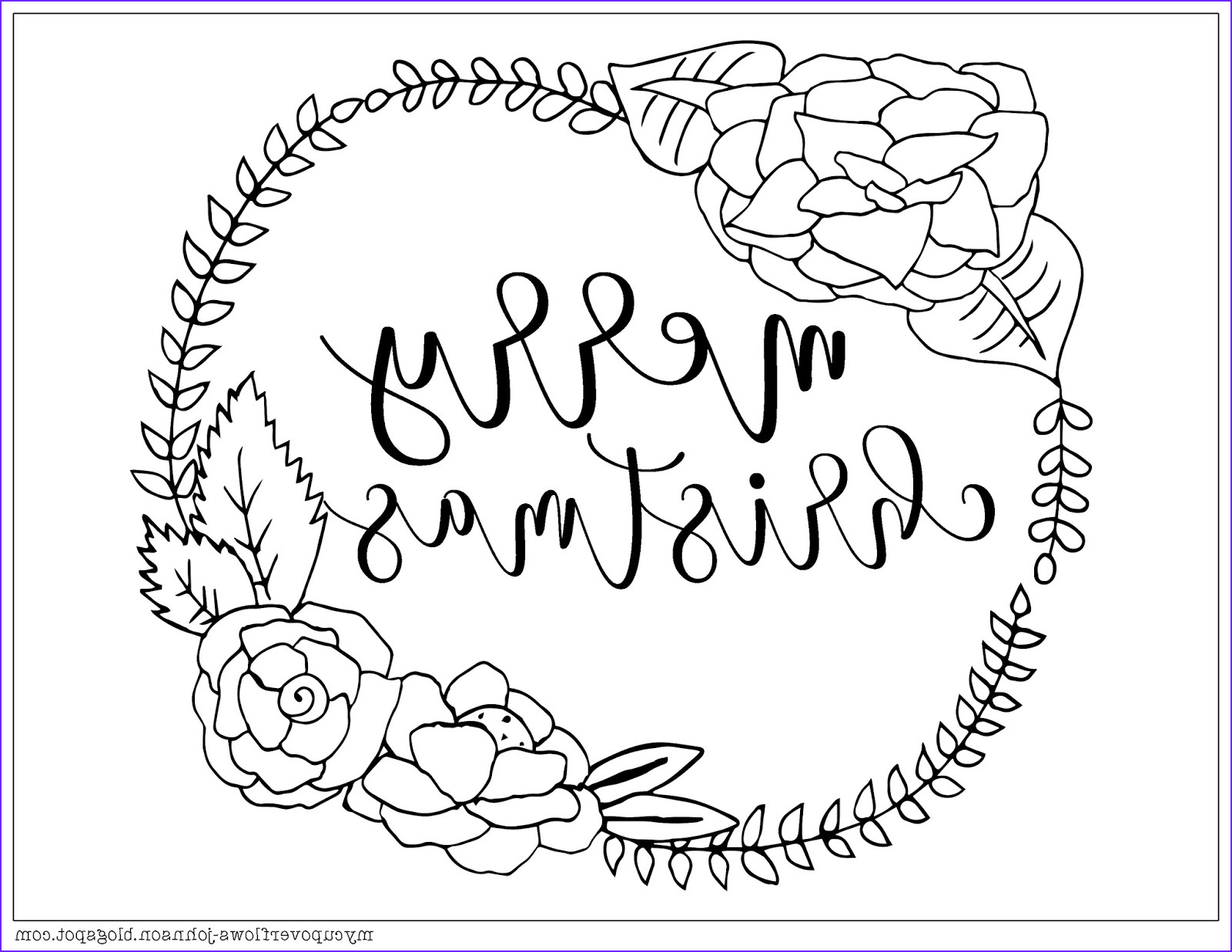 Merry Christmas Coloring Page that Say (merry Christmas) Beautiful Photos My Cup Overflows Christmas Coloring Pages