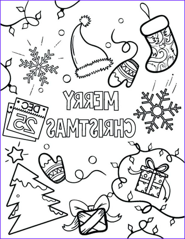 Merry Christmas Coloring Page that Say (merry Christmas) Elegant Collection Merry Christmas Coloring Pages for Adults at Getcolorings