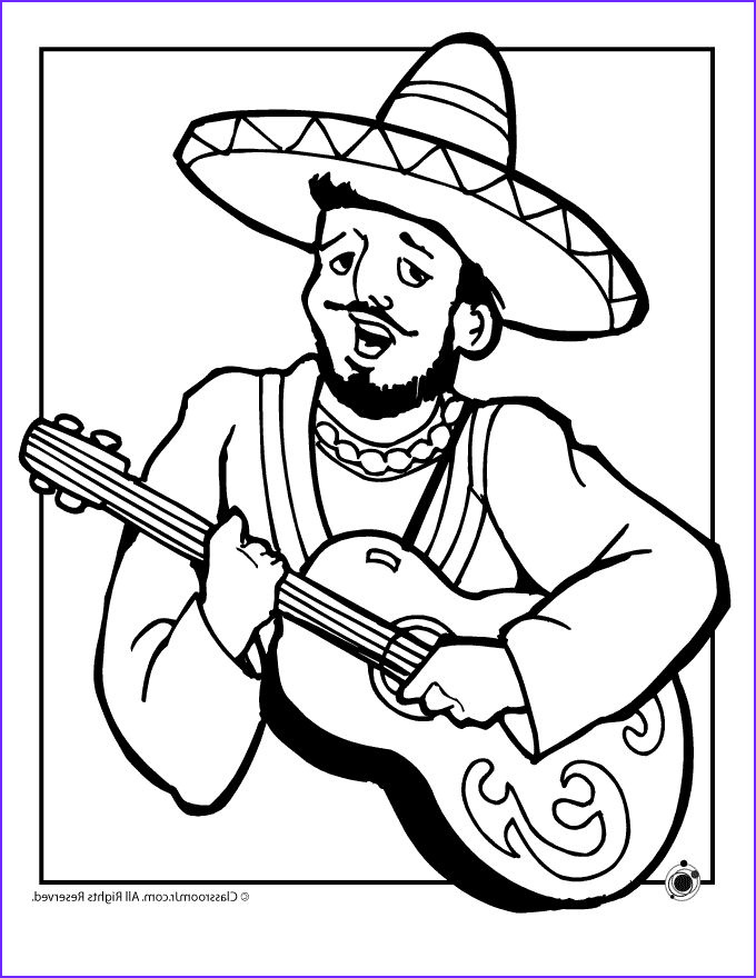 Mexican Coloring Book Inspirational Image Mexico Coloring Pages at Getcolorings