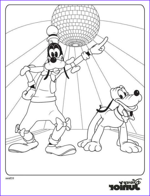 Mickey Mouse Clubhouse Coloring Book Beautiful Images Mickey Mouse Clubhouse Coloring Pages 5