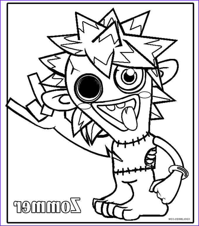 Monster Coloring Page For Kids Elegant Gallery Printable Moshi Monsters Coloring Pages For Kids