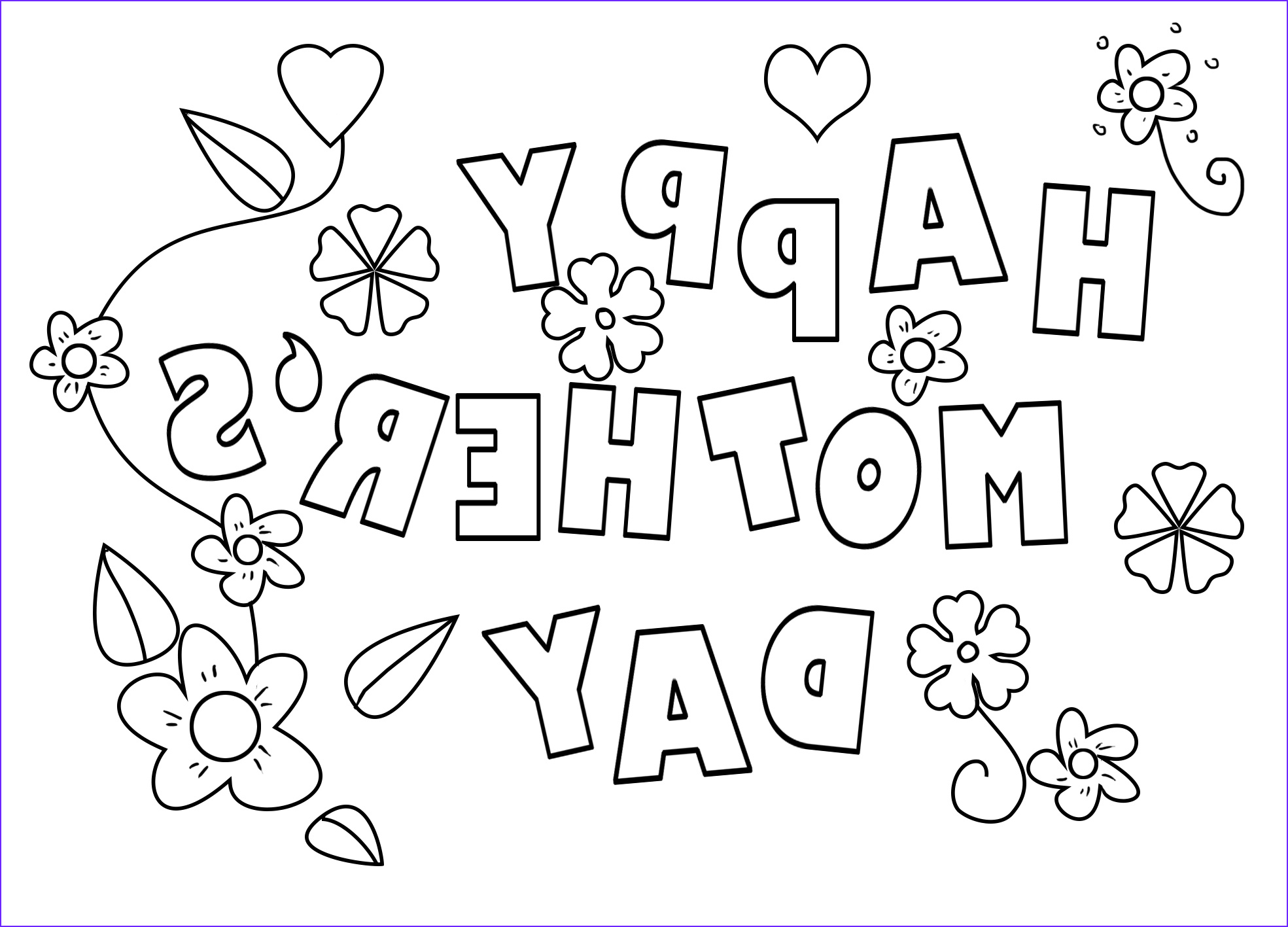Mothers Day Coloring Book Beautiful Images Mother S Day Coloring Pages