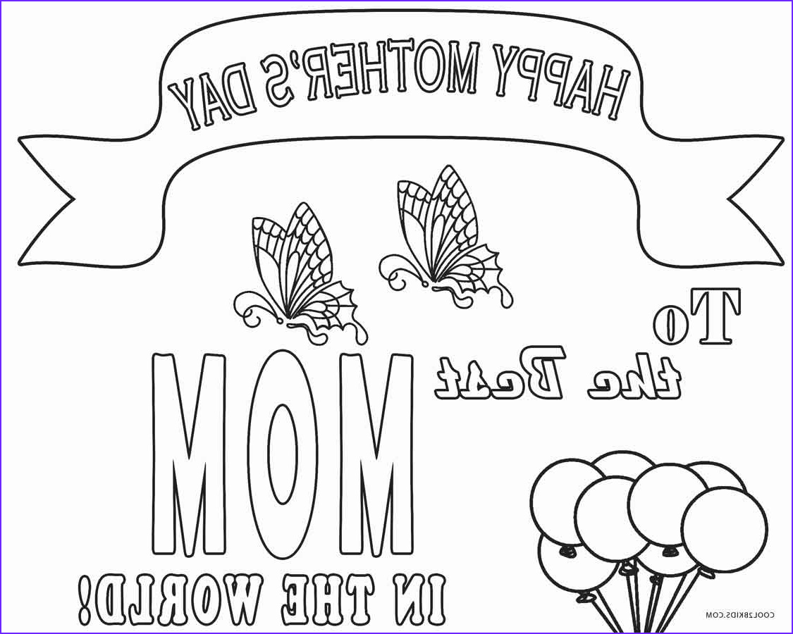 Mothers Day Coloring Book Elegant Collection Free Printable Mothers Day Coloring Pages for Kids