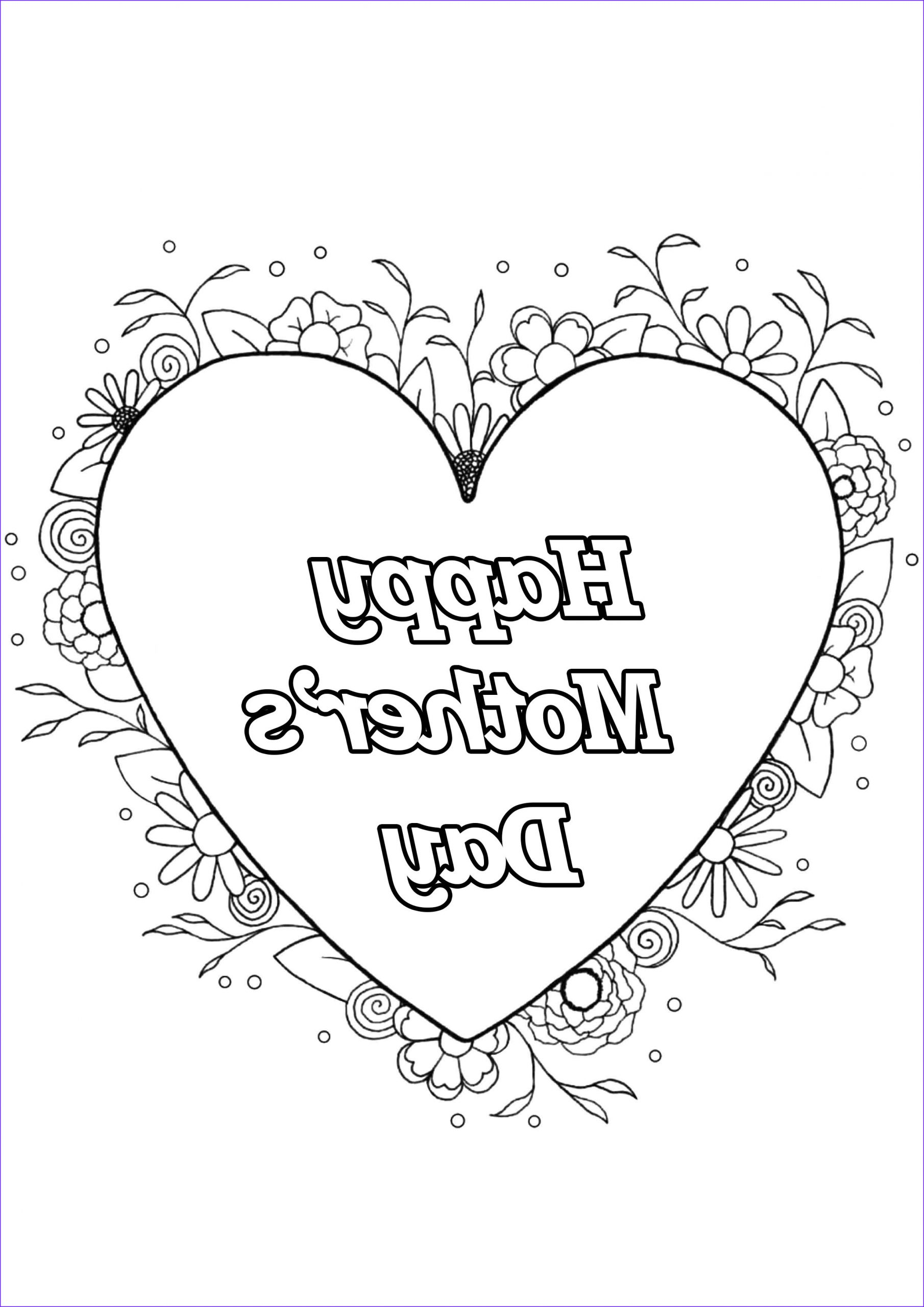 Mothers Day Coloring Book Inspirational Photos Mother S Day 4 Mother S Day Adult Coloring Pages