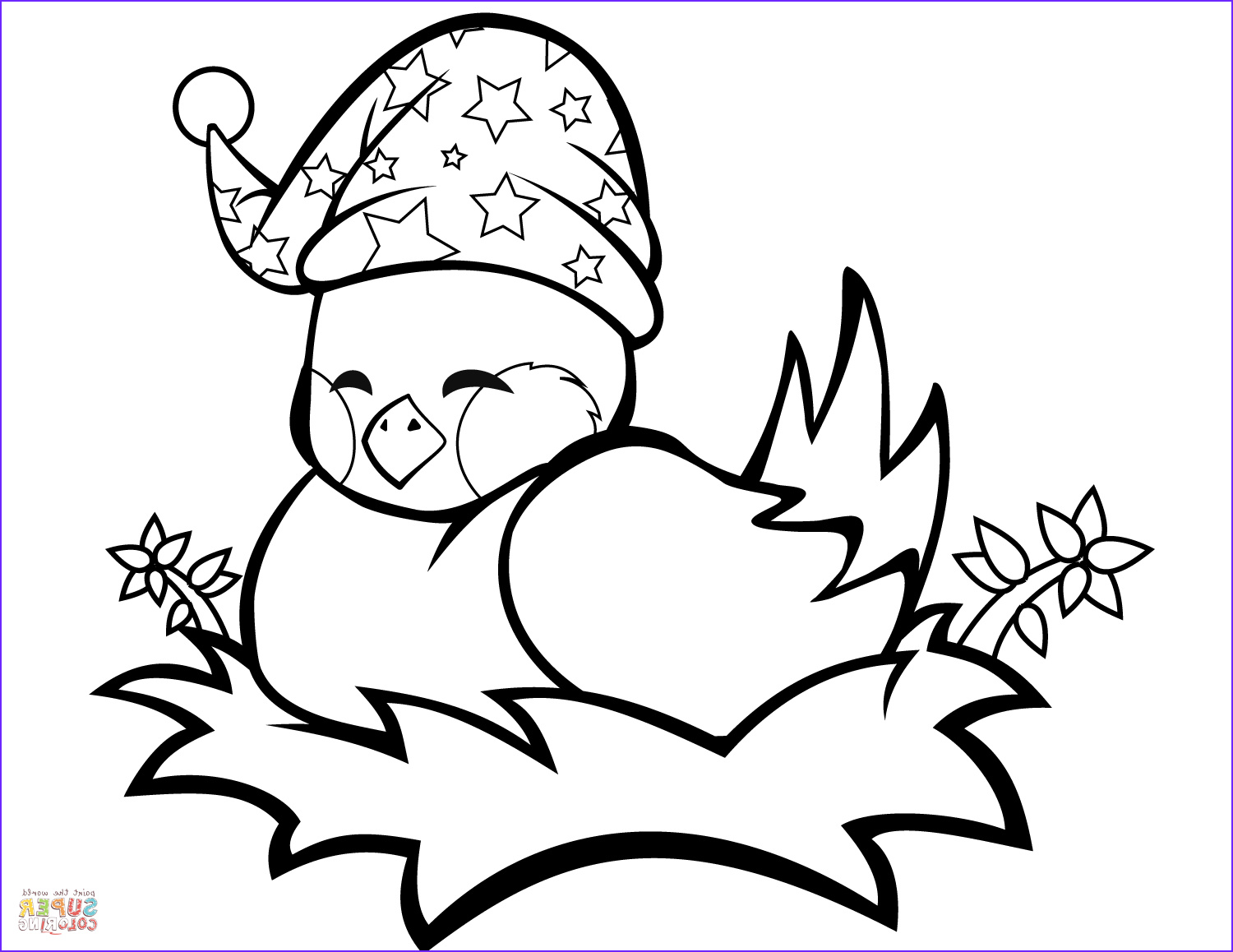 Nest Coloring Page Best Of Collection Cute Bird In A Nest Coloring Page