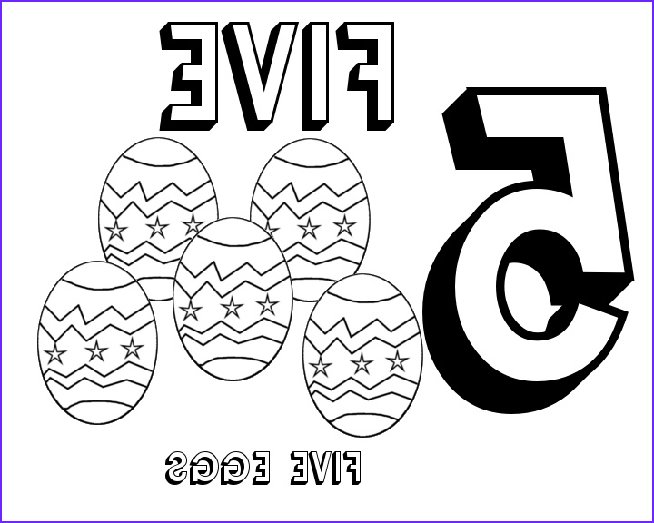 Number 5 Coloring Sheet New Images Number 5 Coloring Page at Getcolorings