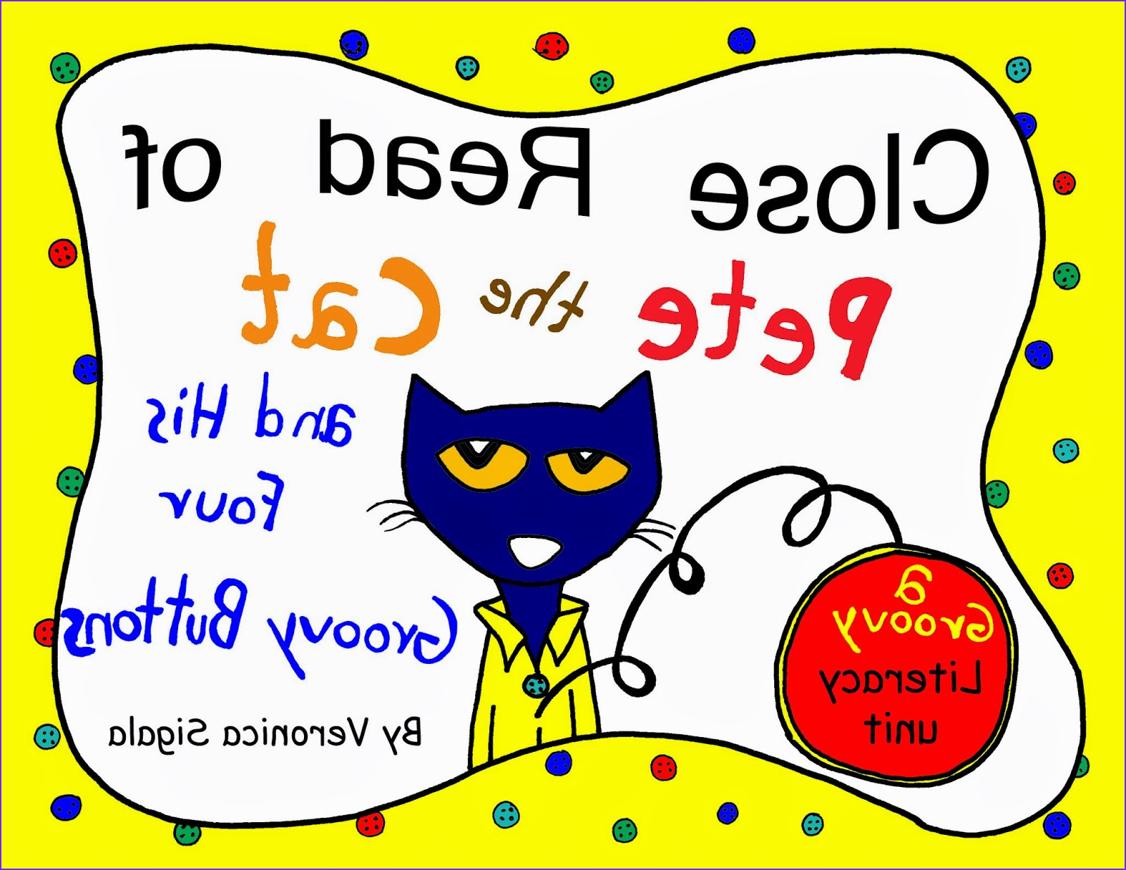 Pete the Cat and His Four Groovy buttons Coloring Page Elegant Images the Teaching Gal Pete the Cat and His Four Groovy buttons