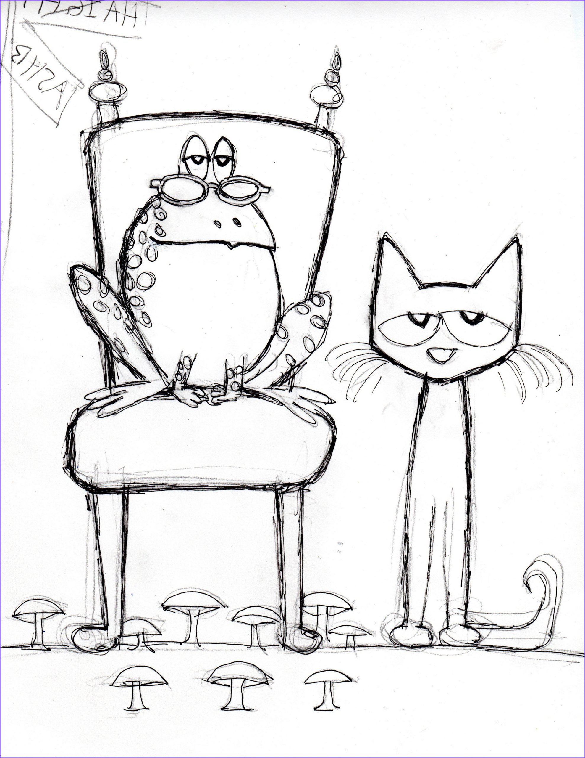 Pete the Cat and His Four Groovy buttons Coloring Page Luxury Photography Pete the Cat and His Four Groovy buttons Sketch Coloring Page