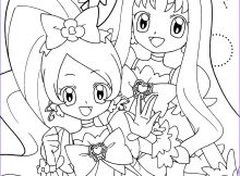Precure Coloring Page Inspirational Collection Heartcatch Precure Coloring Page Zerochan Anime Image