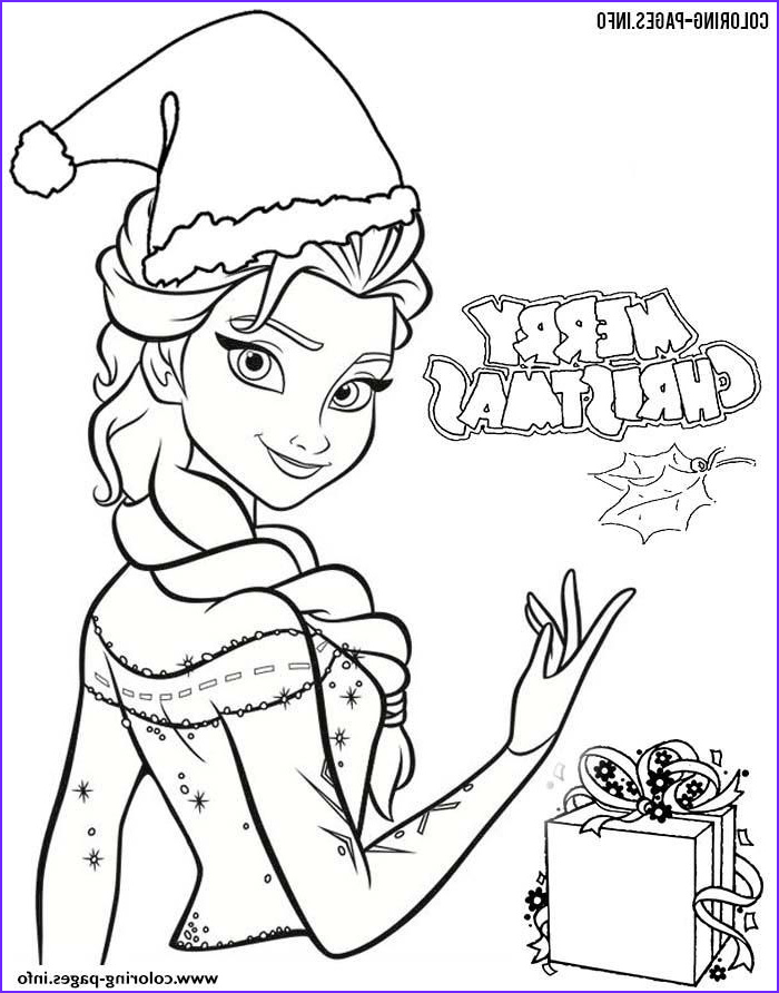 Princess Christmas Coloring Page Beautiful Image Print Frozen Elsa Disney Princess Christmas Coloring Pages
