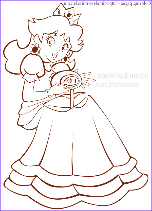 Princess Daisy Coloring Page New Collection Princess Daisy Coloring Pages 9 Timeless Miracle
