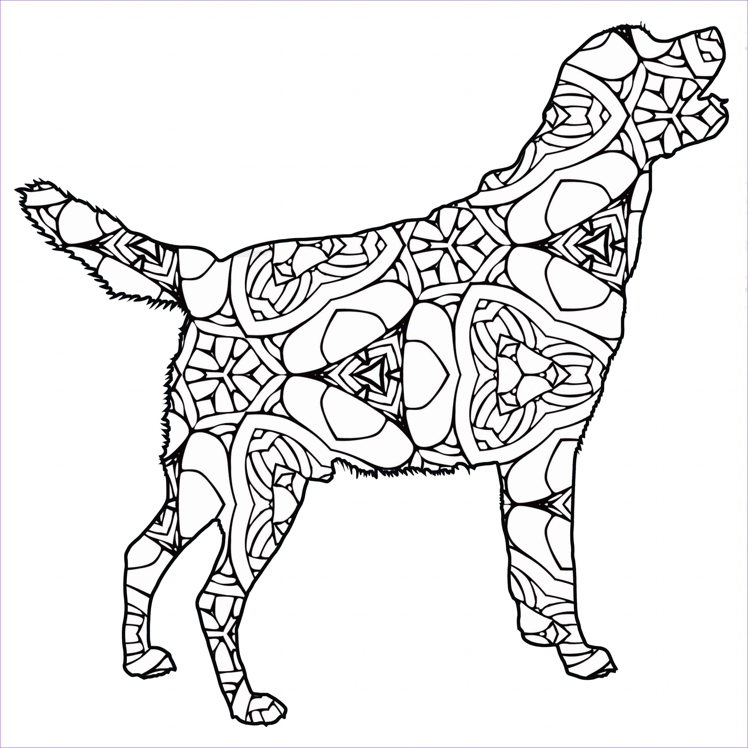 Printable Coloring Page Of Animals Cool Images 30 Free Printable Geometric Animal Coloring Pages