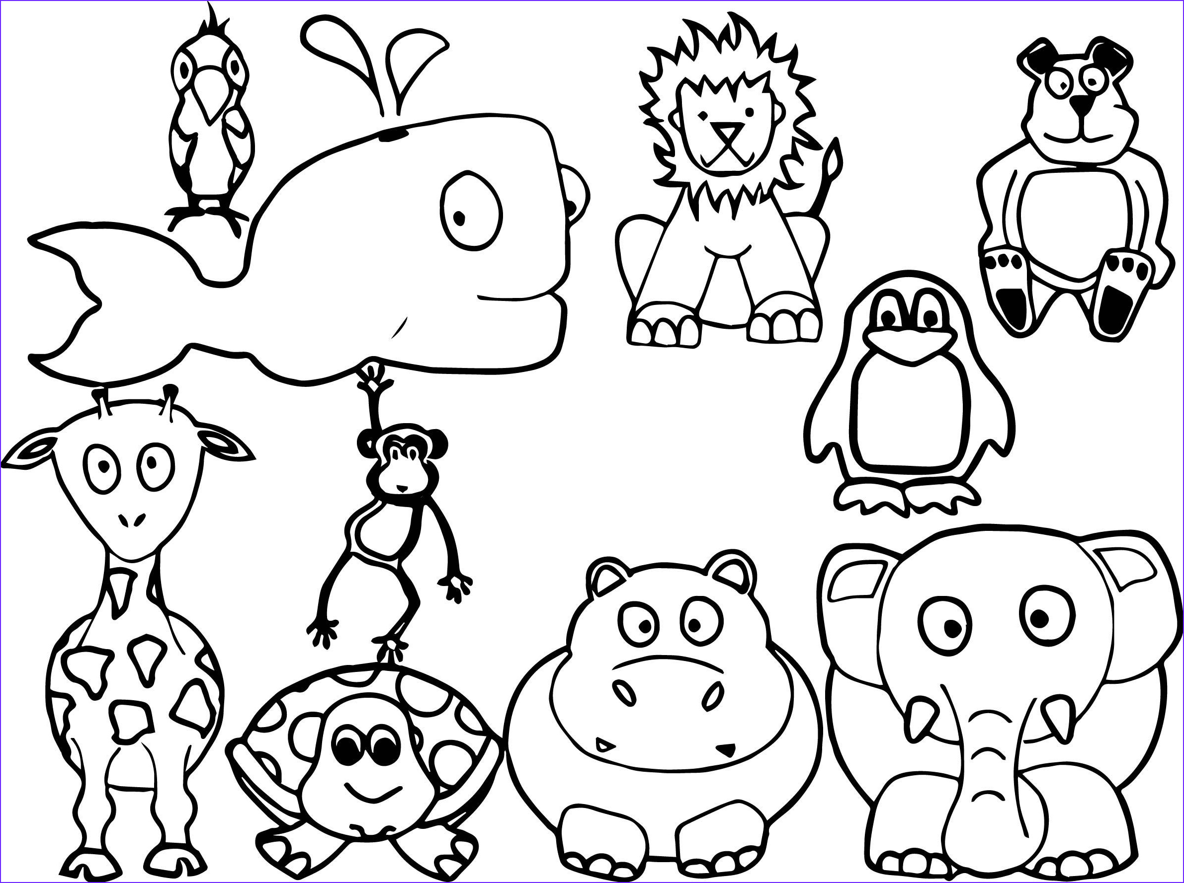 Printable Coloring Page Of Animals Luxury Stock Animal Coloring Pages Best Coloring Pages for Kids