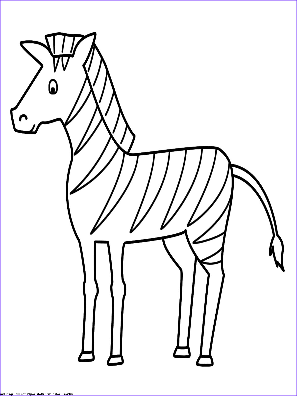 Printable Coloring Page Of Animals Unique Photos Zebra Coloring Pages Free Printable Kids Coloring Pages