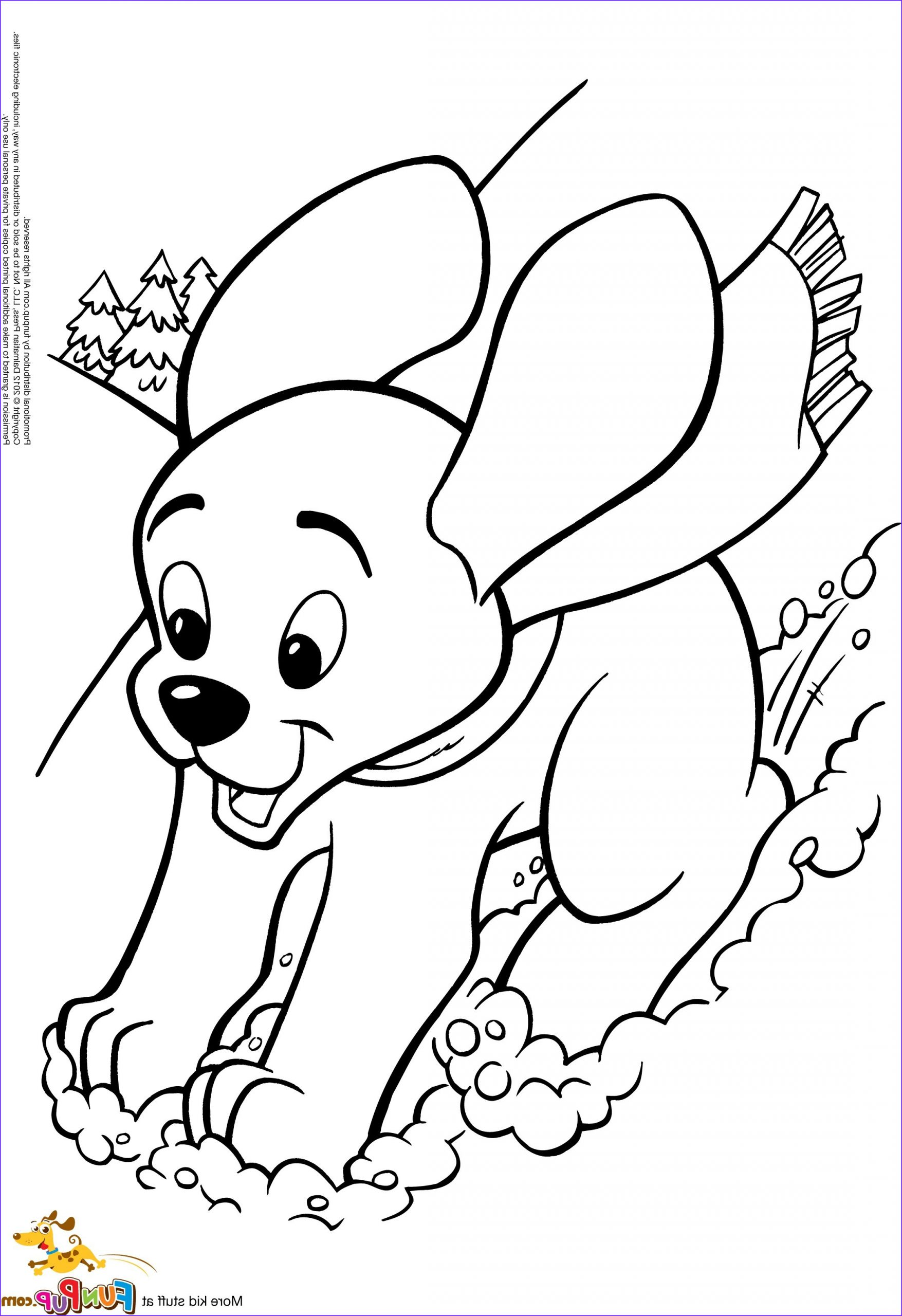 Puppy Coloring Page for Kids Awesome Photos Cute Dog Coloring Pages for Kids at Getcolorings