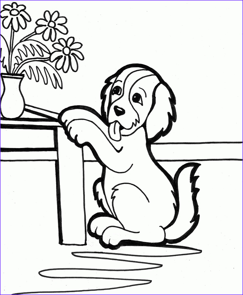 Puppy Coloring Picture Best Of Photography Free Printable Puppies Coloring Pages for Kids