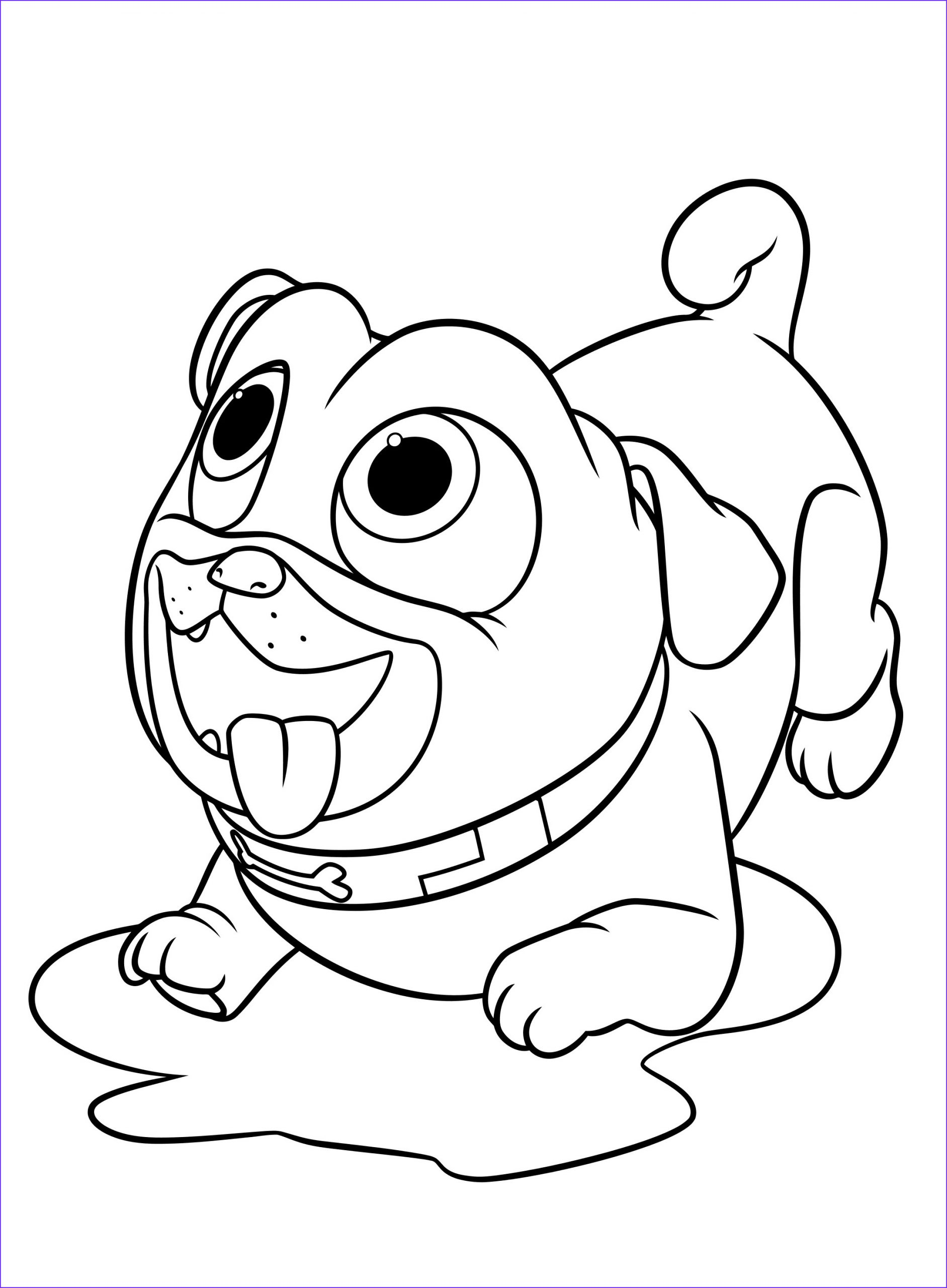 Puppy Coloring Picture Cool Photography Puppy Dog Pals Coloring Pages to and Print for Free