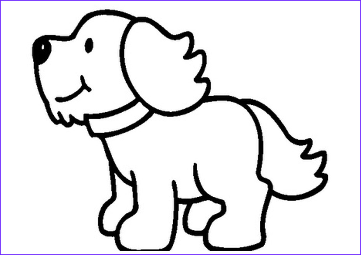 Puppy Coloring Picture Elegant Gallery Printable Animals Coloring Pages Sheets