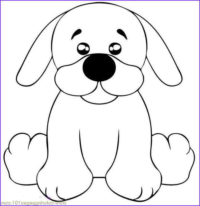 Puppy Coloring Picture New Photos Draw A Black Lab Puppy Step 5 Coloring Page Free Dog