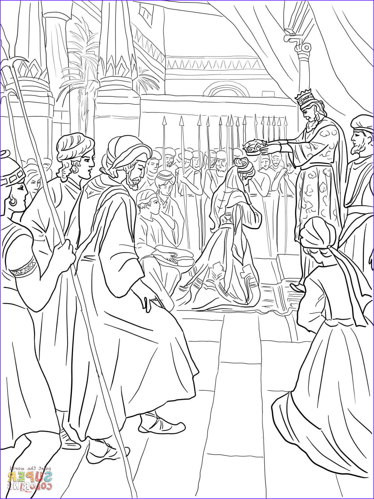 Queen Esther Coloring Page New Photos Esther Wordt Een Koningin Super Coloring