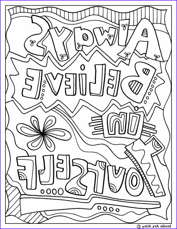 Quote Coloring Sheet Awesome Collection Inspirational Coloring Pages Coloring Home