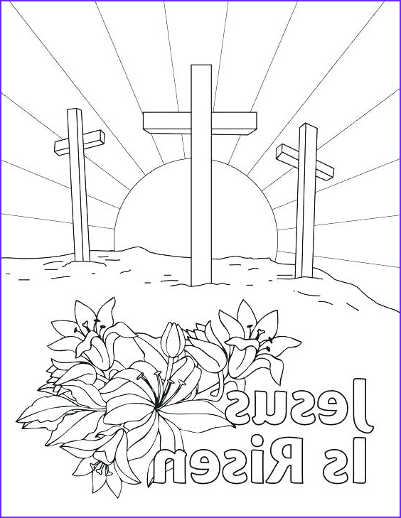 Resurrection Coloring Page for Preschoolers New Image Resurrection Coloring Pages for Preschoolers at