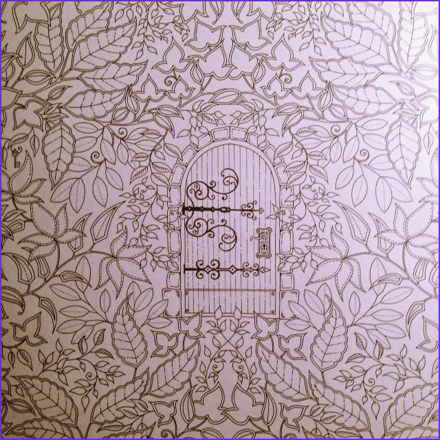 Secret Garden Coloring Page Finished Beautiful Photos Passion for Pencils My Secret Garden Colouring Book Part 3