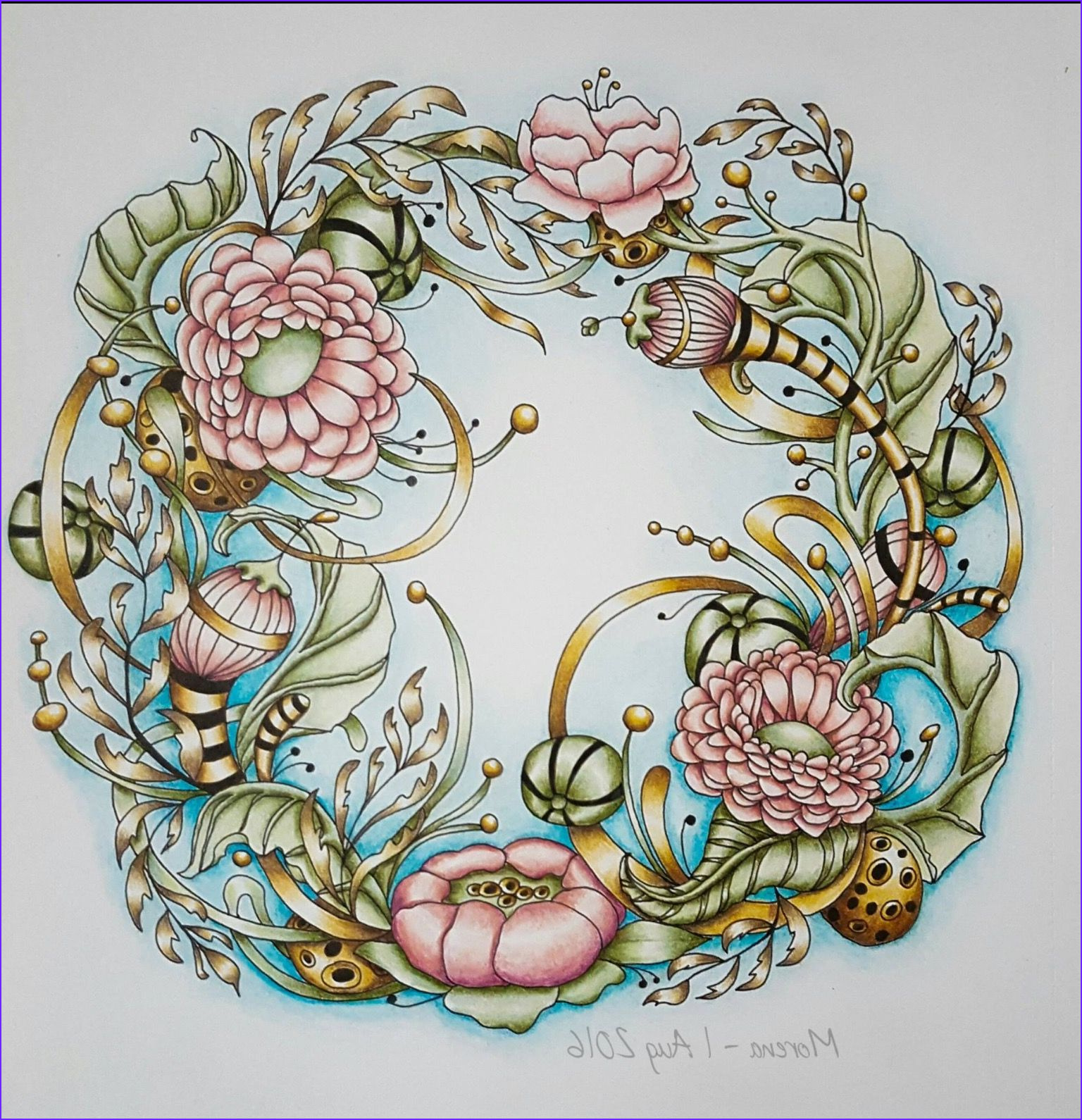 Secret Garden Coloring Page Finished Inspirational Images Pin by June Taylor On Likes 2