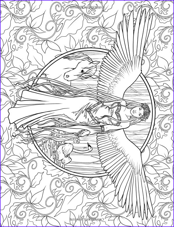 elf coloring pages for adults