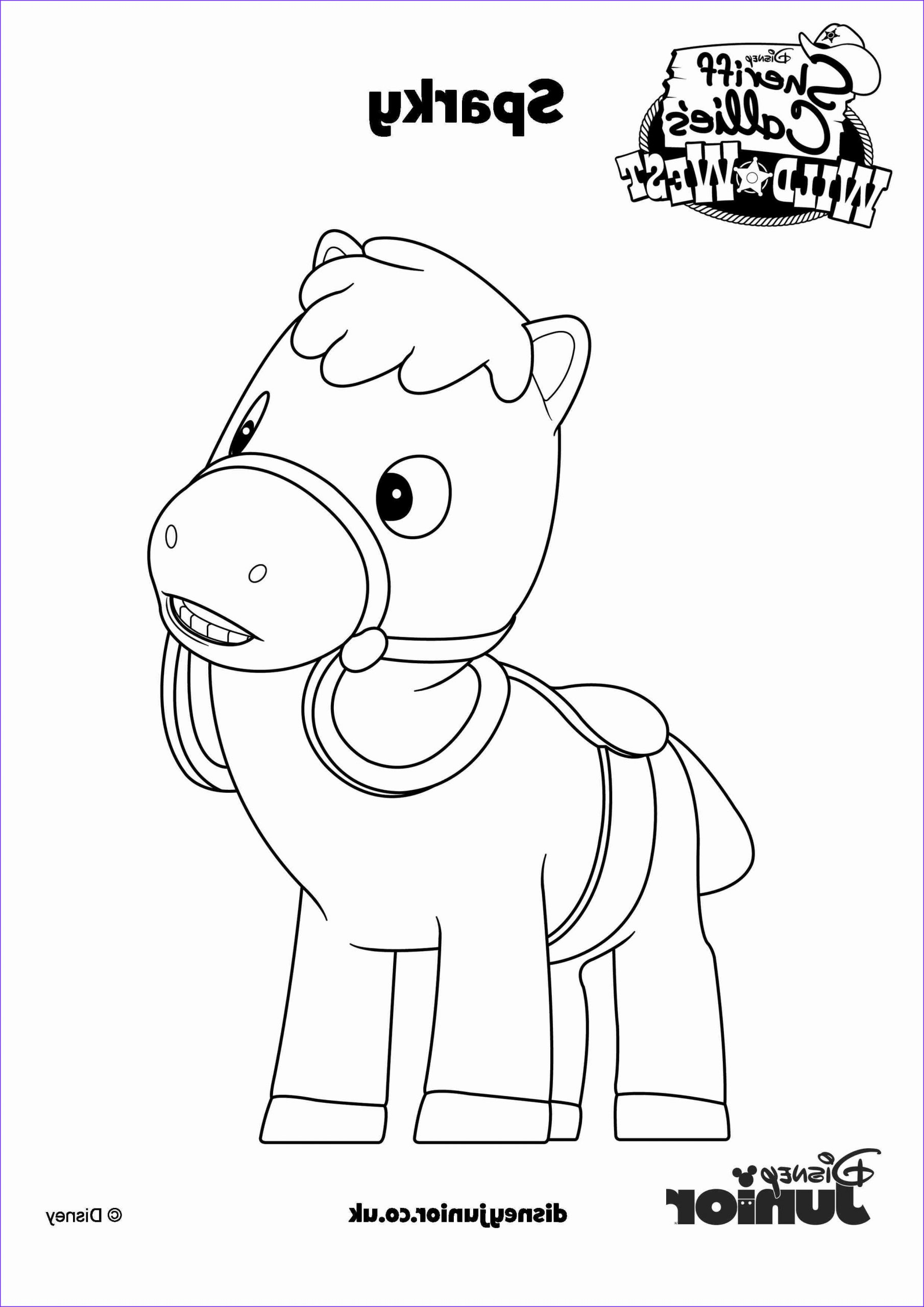 sheriff callie coloring pages free