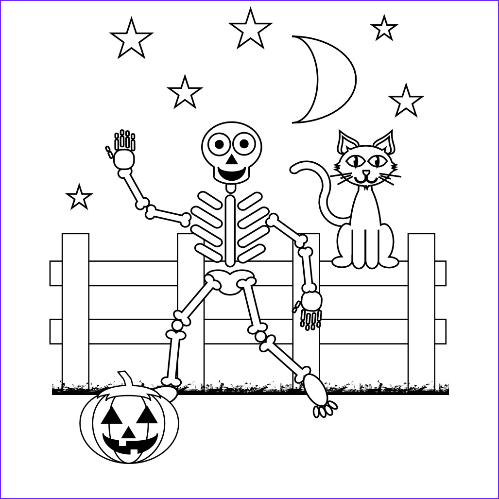 Skeleton Coloring Page Inspirational Gallery Free Printable Skeleton Coloring Pages for Kids