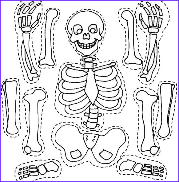 Skeleton Coloring Page Luxury Stock Crafts Actvities and Worksheets for Preschool toddler and