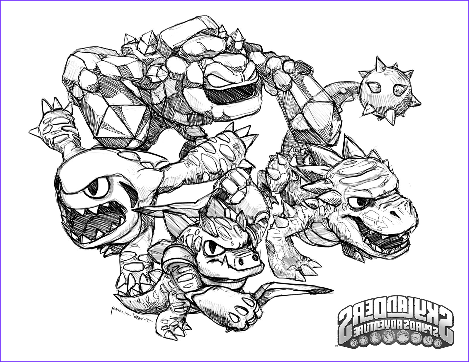 Skylanders Coloring Page Best Of Photography Crabfu Blog Skylanders Speed Drawing & Coloring Pages